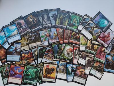 Magic The Gathering MTG 50ks univerzální mix tokenu