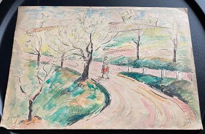 Stará kresba - Krajina - Vacke