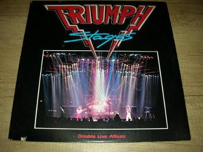 Triumph  – Stages (1985) 2xLP ,USA 1.Press , TOP STAV!!!