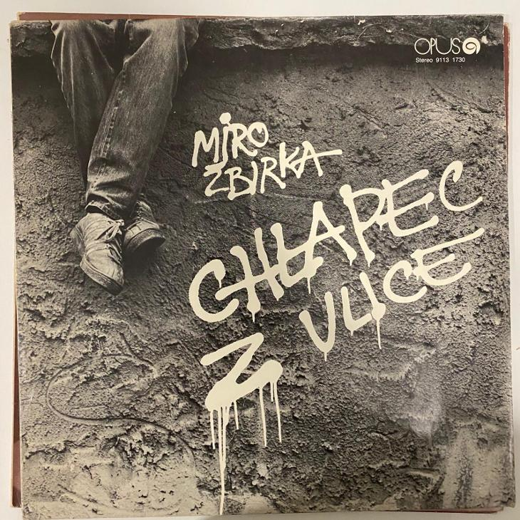 Miro Žbirka – Chlapec Z Ulice - LP vinyl - Hudba