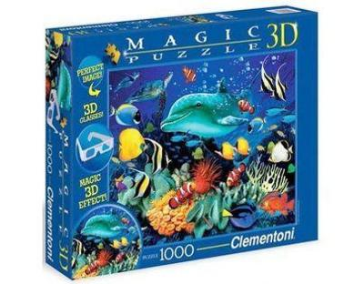 Puzzle clementoni magic 3D 1000 Nové