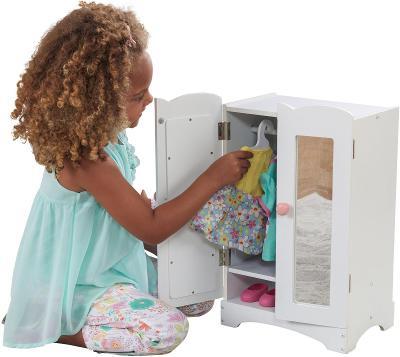 """Šatník pro panenky KidKraft® """"Lily"""" (701359) H993"""
