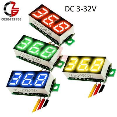 """Digitální voltmetr DC 2,5V-32V červený LED 0.36 """""""