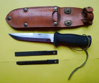 RARE - útočný nůž UTON MIKOV -originál UNPROFOR - raritní číslo 0007!!