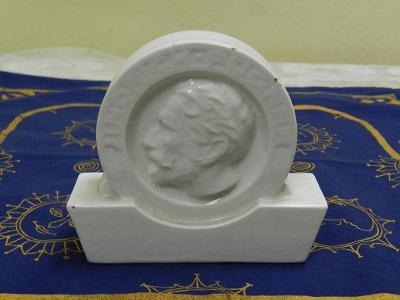 Keramická plastika Miroslav Tyrš