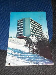 Pohlednice Vysoké Tatry- Hotel Bellevue, prošlé poštou.
