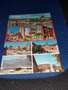 Pohlednice z roku 1973 Brno,prošlé poštou.