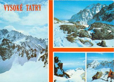 Vysoké Tatry  - Veľká Studená dolina