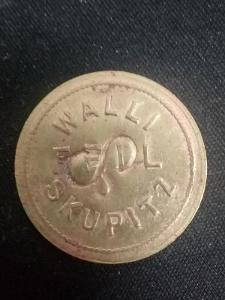 Chmelová známka WALLI FEIL Skupitz