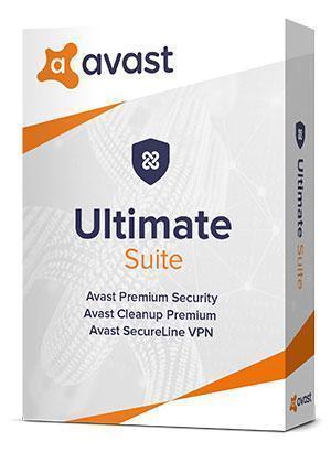 Avast Ultimate Suite 2021 pro 10 zařízení na 1 rok - Software