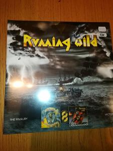 Prodám Double LP Running Wild - The Rivalry/Victory