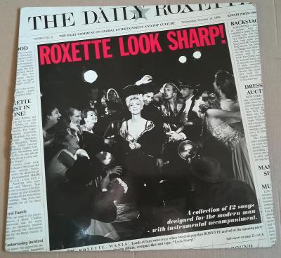 LP ROXETTE-LOOK SHARP /1988