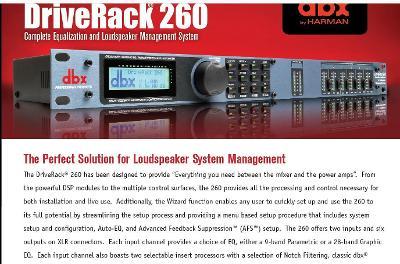 dbx drive-rack 260