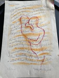 Rare - grafika Lyra Pragensis -signováno Svolinský