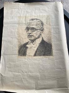 Rare - grafika Max Švabinský - signováno 159/200