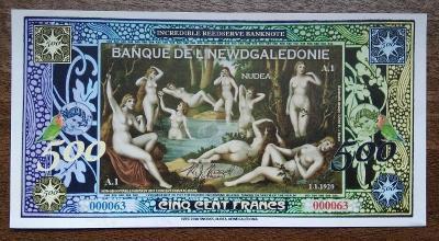 Newdgaledonie - 500 franků