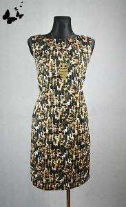 Vzorované šaty vel 46