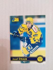 Hokejová karta -Josef Štraub