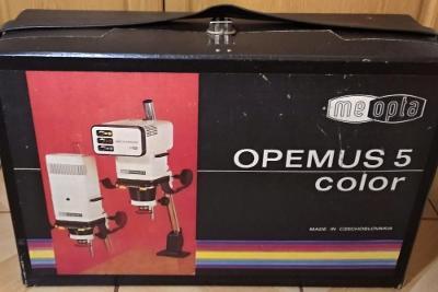 Zvětšovák OPEMUS 5 + oboustranná leštička a celé vybavení fotokomory
