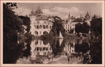 Žinkovy * pohled na zámek * Plzeň jih * M666