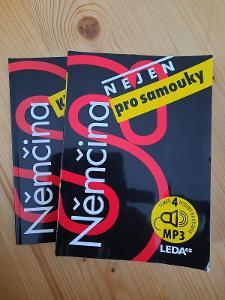 Němčina nejen pro samouky učebnice + CD + klíč