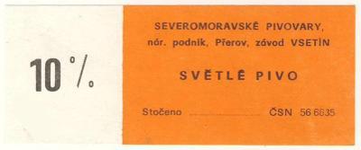 PE - VSETÍN - CZ 10s-2,  C 2