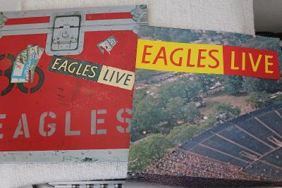 Eagles Live 2xLP 1980 vinyl Germany1.press jako nove NM komplet Poster