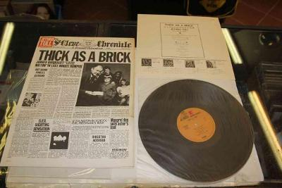JETHRO TULL - THICK AS A BRICK - JAPAN