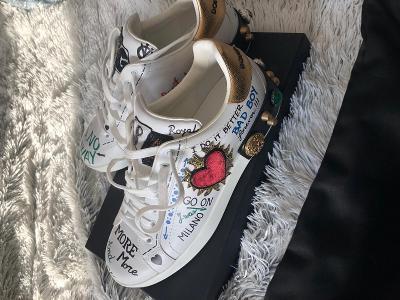 Dolce&Gabbana limitovaná edice UK 8,5