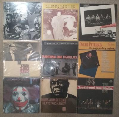 9 x LP jazz