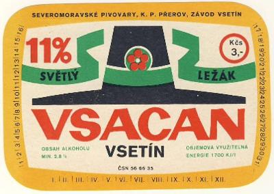 PE - VSETÍN - CZ 11s-2c,  E 2 III