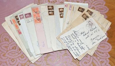 Dopisy na jednu osobu 1948-1949