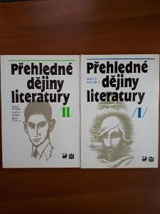 Přehledné dějiny literatury I, II