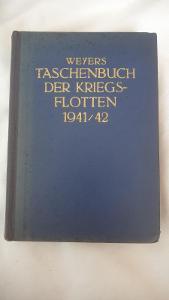 Taschen der Kriegs Flotten 1941/42-Kniha o lodich a ponorkach 2.sv.val