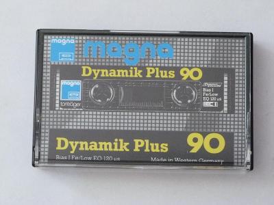 kazeta Magna Dynamic Plus 90, typ I, 1984-86