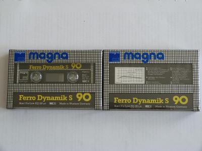 kazeta Magna Ferro Dynamic S 90, typ I, 1984-86