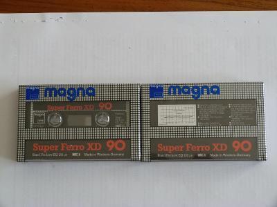 kazeta Magna Super Ferro XD 90, typ I, 1984-86