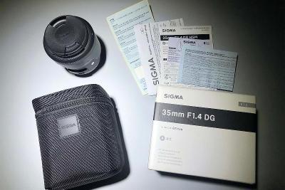 SIGMA 35 mm f/1,4 DG HSM Art pro Nikon