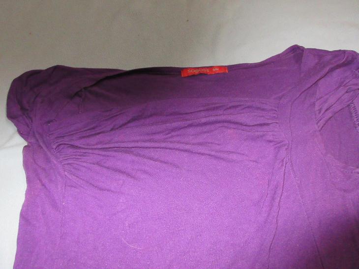 triko fialové - Dámské oblečení