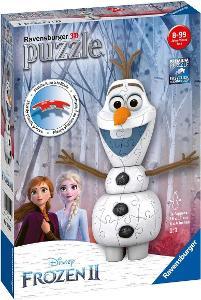2K05 RAVENSBURGER 3D PUZZLE FROZEN - OLAF 16x11 *53929623* MIWA