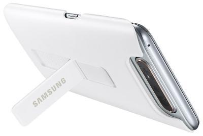 Pouzdro originál Samsung A80 EF-PA805CW Standing Cover Galaxy white