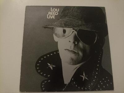 Lou Reed - Live - Výborný Stav - UK - 1981 - LP Walk On The Wild Side