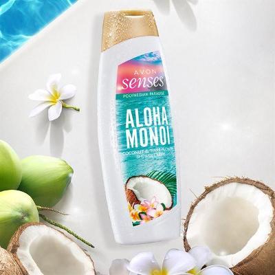 Krémový sprchový gel Aloha Monoi