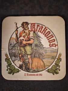 Pivní podtácek - Krakonoš