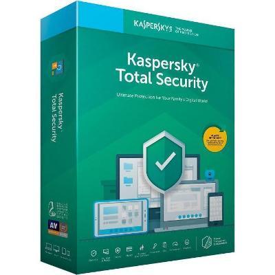 Kaspersky Total Security 2021 3 PC / 2 ROKY + FAKTURA