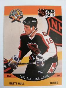 Brett Hull #342 All-Star 1990/1991 Pro Set