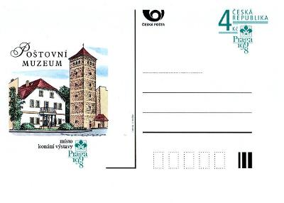 Celistvosti - Poštovní muzeum Praga 1998