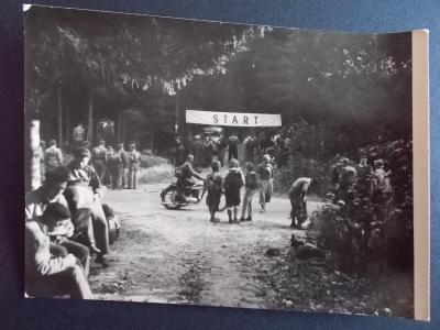 Zlín Gottwaldov Vizovice vrchy Motorka závody