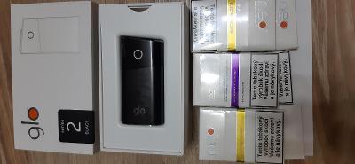 Elektronická cigareta GLO, nová +6xtabákové náplně
