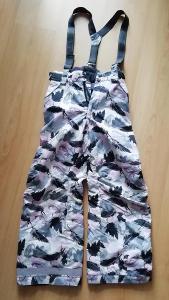 Lyžařské kalhoty dívčí vel. 140